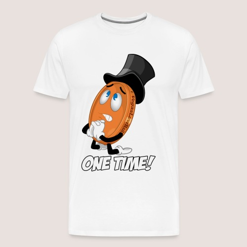 THE ONE TIME PENNY - Men's Premium T-Shirt