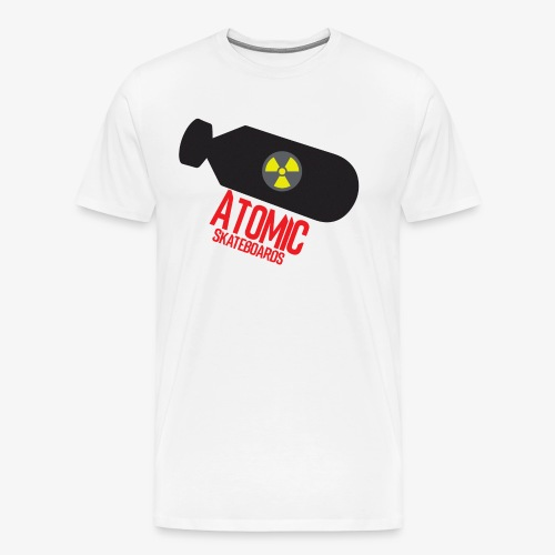 Atomic Skateboard OG Bomb - Men's Premium T-Shirt