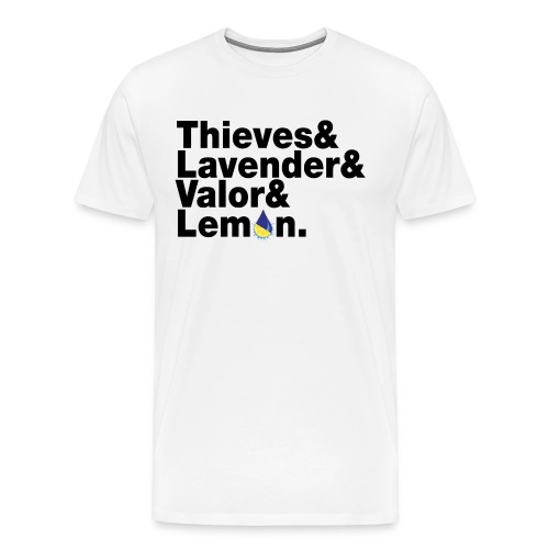 beatlesblack - Men's Premium T-Shirt