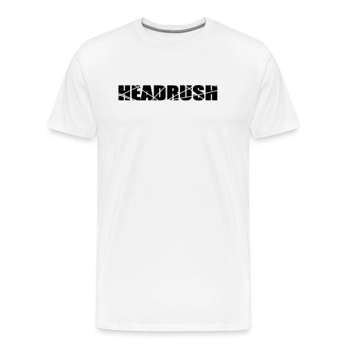 HeadRush Logo Black - Men's Premium T-Shirt
