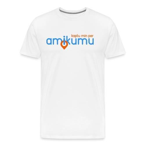 Kaptu min per Amikumu Blua - Men's Premium T-Shirt