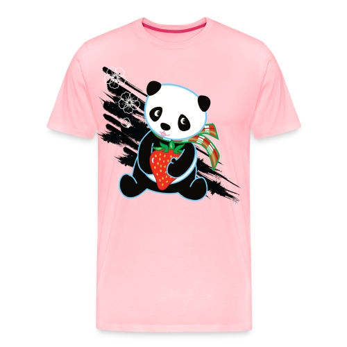 Cute Kawaii Panda T-shirt by Banzai Chicks - Men's Premium T-Shirt