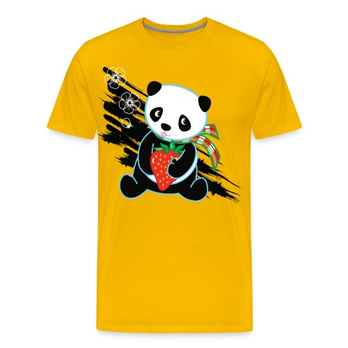 Cute Kawaii Panda T-shirt by Banzai Chicks - Men's Premium T-Shirt