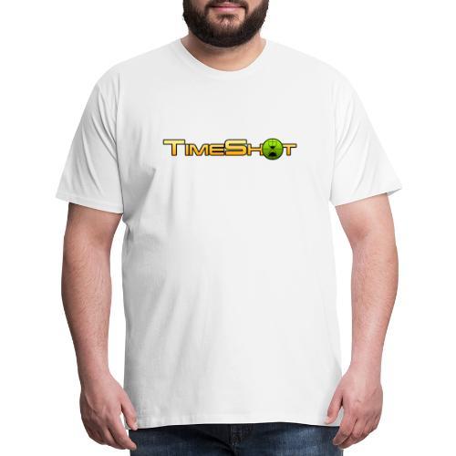 TimeShot Logo Text - Men's Premium T-Shirt