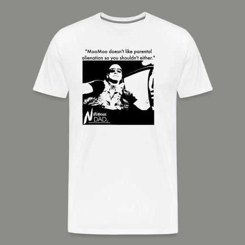 Moo Moo and NotoriousDAD riding.' - Men's Premium T-Shirt