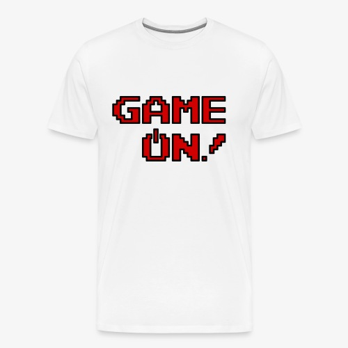 Game On.png - Men's Premium T-Shirt