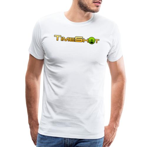 TimeShot Logo Text - Men's Premium T-Shirt