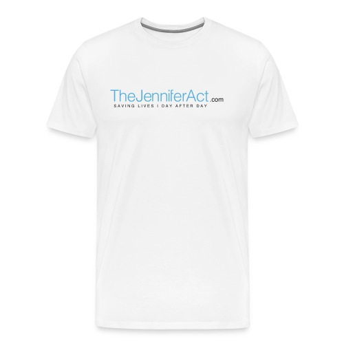 the jennifer act logo png - Men's Premium T-Shirt