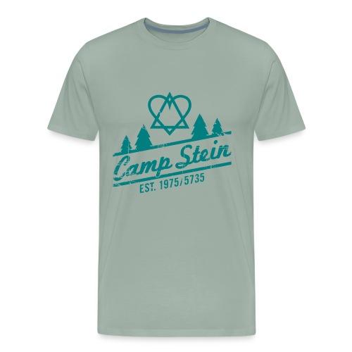 CampStein_logo_rough_1 - Men's Premium T-Shirt