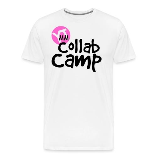 Collab Camp Shirt Design png - Men's Premium T-Shirt