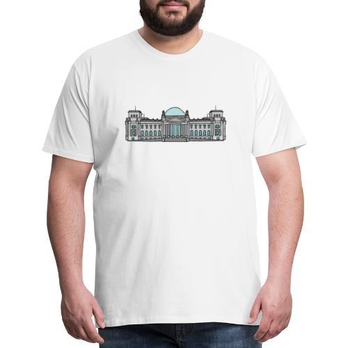 Reichstag building Berlin - Men's Premium T-Shirt