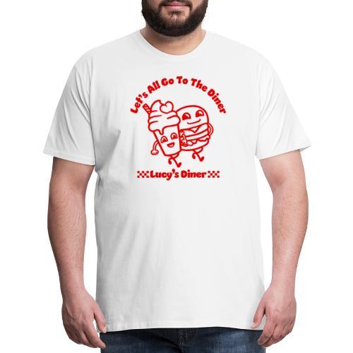 Lucy's Diner - Men's Premium T-Shirt