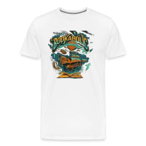 Bookaholic - Men's Premium T-Shirt