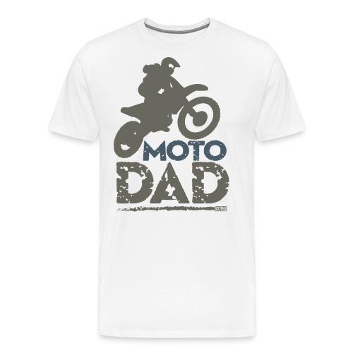 Dirt Bike Dad - Men's Premium T-Shirt