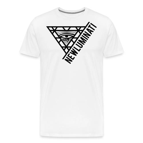 newluminati graphic - Men's Premium T-Shirt