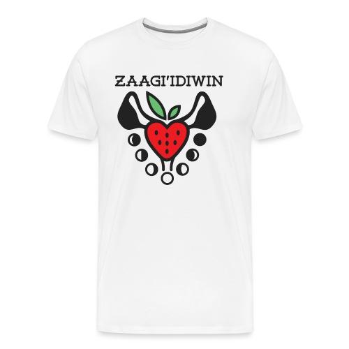Zaagi idiwin Logo - Men's Premium T-Shirt