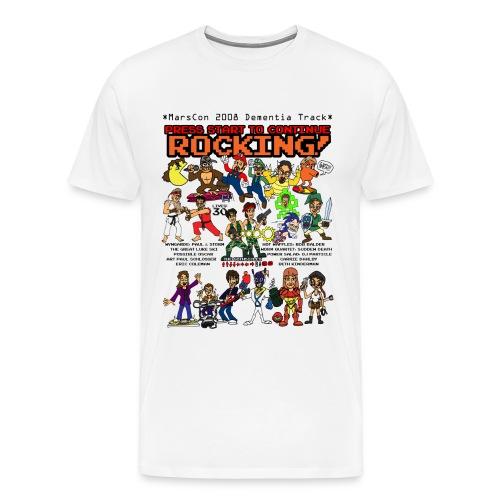 marscon 2008 dt tshirt color full size - Men's Premium T-Shirt