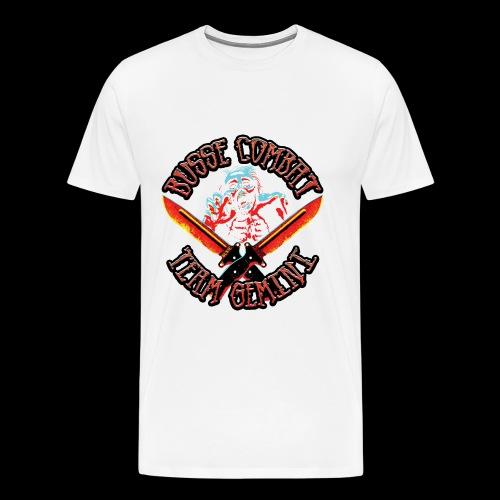 Busse Combat Zombie - Men's Premium T-Shirt