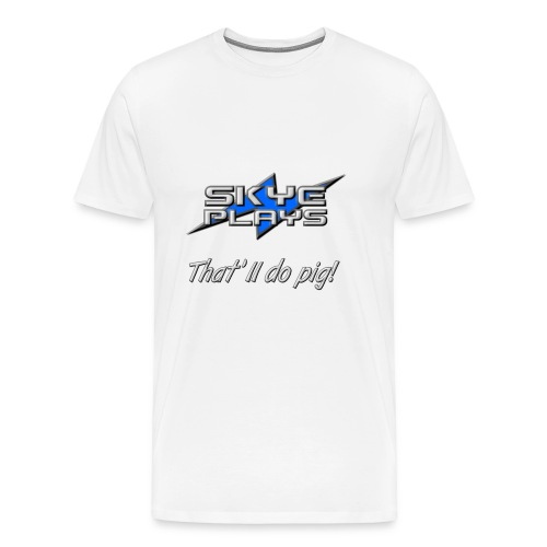 Skye Plays TDP Steel 800ppi png - Men's Premium T-Shirt