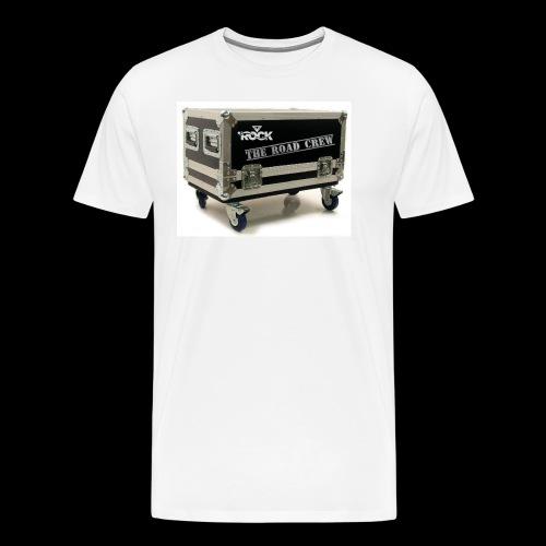 Eye rock road crew Design - Men's Premium T-Shirt
