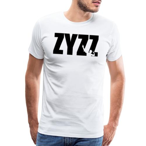 Zyzz text - Men's Premium T-Shirt