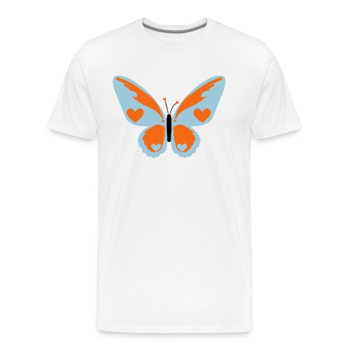 Butterfly with Love - Men's Premium T-Shirt