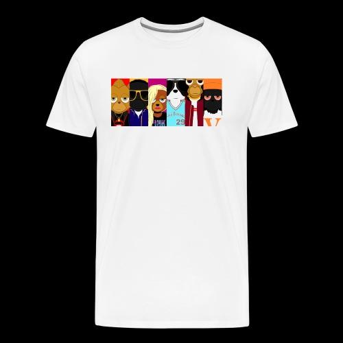 Barry Tales Collage - Men's Premium T-Shirt