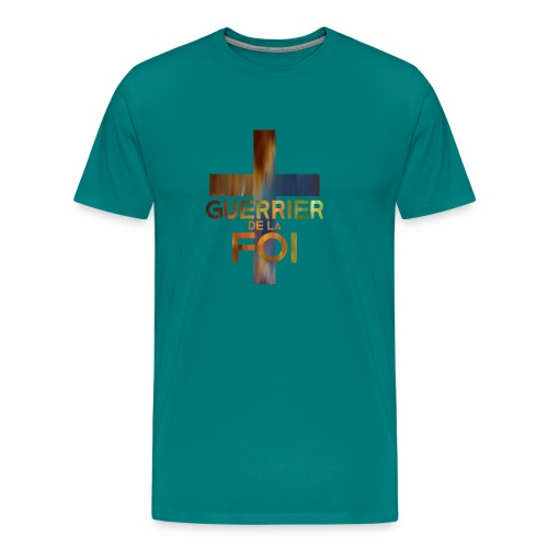WARRIOR OF FAITH - Men's Premium T-Shirt