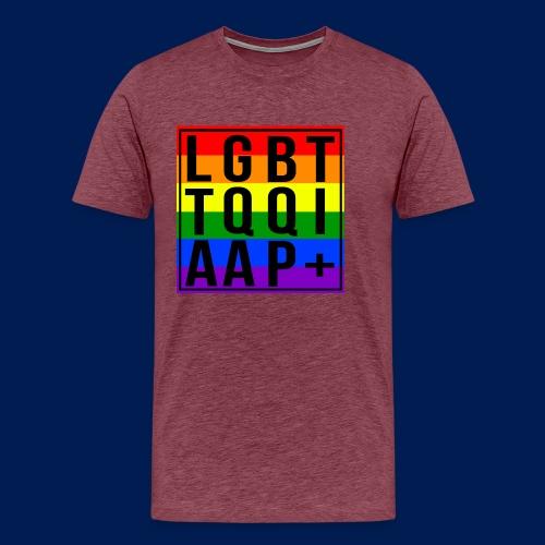 LGBT + - Men's Premium T-Shirt