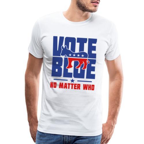 Vote Blue No Matter Who - Men's Premium T-Shirt