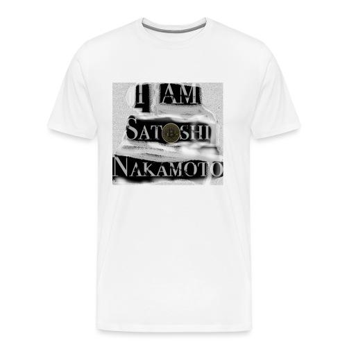 I am Satoshi - Men's Premium T-Shirt