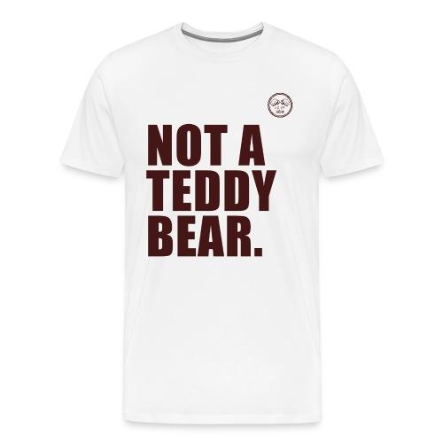 not a teddy bear png - Men's Premium T-Shirt