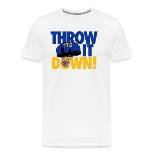 Throw it Down - Men's Premium T-Shirt