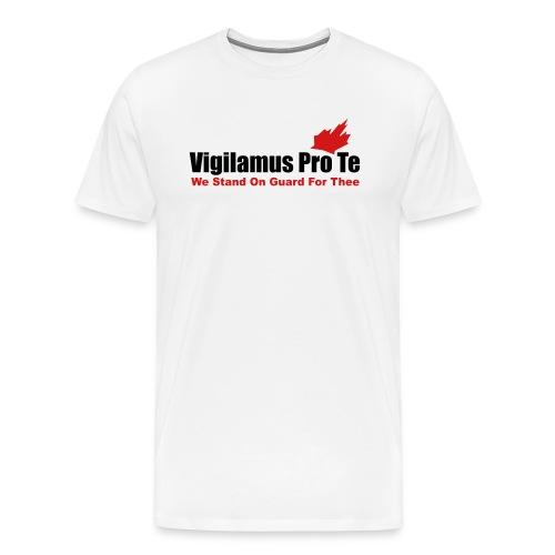 Vigilamus Pro Te - Men's Premium T-Shirt