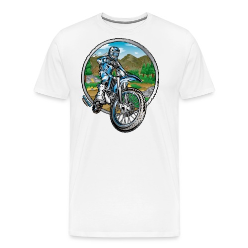 Supercross Motocross Shirt - Men's Premium T-Shirt