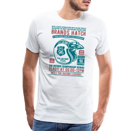 Brands Hatch Racing 1996 Royal Club Racer Gifts - Men's Premium T-Shirt