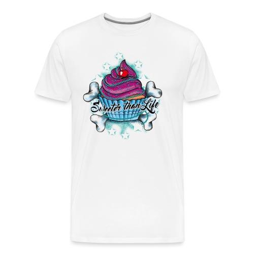 Cupcake - Sweeter than Life - Men's Premium T-Shirt