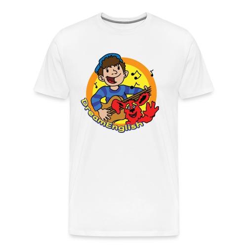 dreamenglishlogo-L - Men's Premium T-Shirt