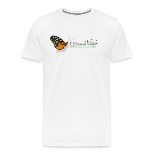 El Bosque Nuevo Butterfly Farm - Men's Premium T-Shirt