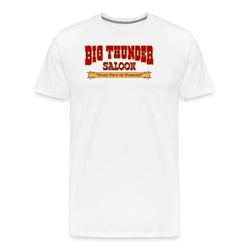 Big Thunder Saloon - Men's Premium T-Shirt