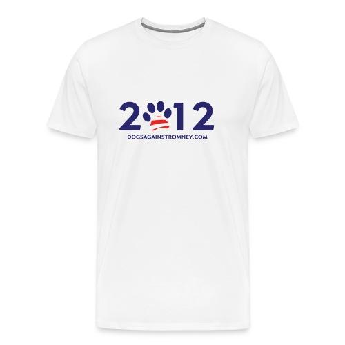 romney2012shirtsfor white - Men's Premium T-Shirt