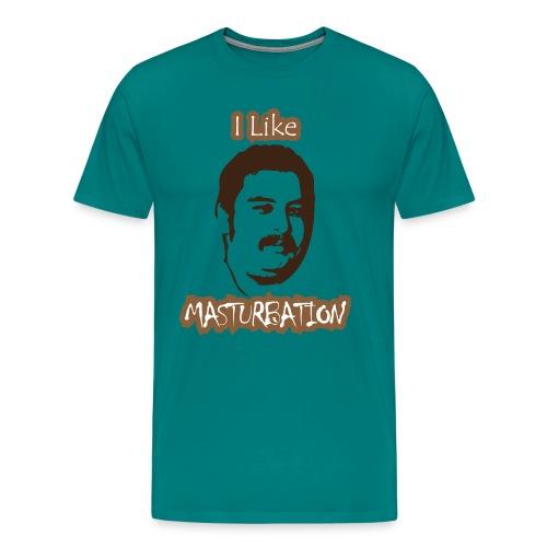 I Like Masturbation - Men's Premium T-Shirt