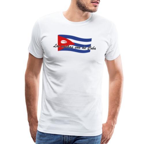 Los orishas son de Cuba bandera 5 - Men's Premium T-Shirt