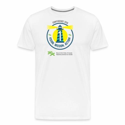 1VisionMissionAction - Men's Premium T-Shirt