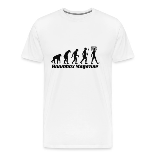 Evolution of Man Black - Men's Premium T-Shirt