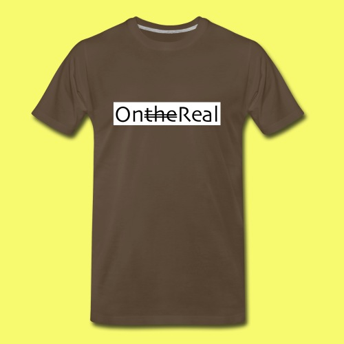 OntheReal ice 2 - Men's Premium T-Shirt