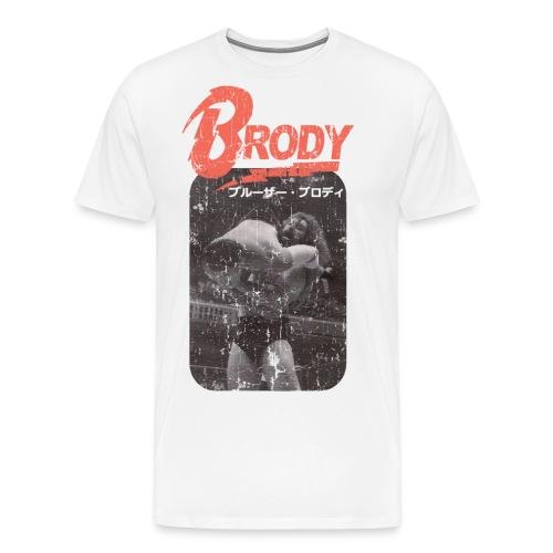 Bruiser Brody Slam - Men's Premium T-Shirt