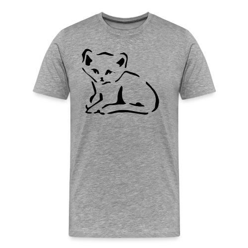 Kitty Cat - Men's Premium T-Shirt