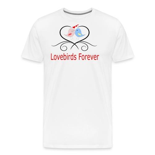 Lovebirds Forever - Men's Premium T-Shirt