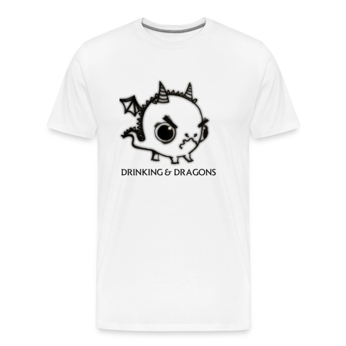 ANGRY DRAGON - Men's Premium T-Shirt